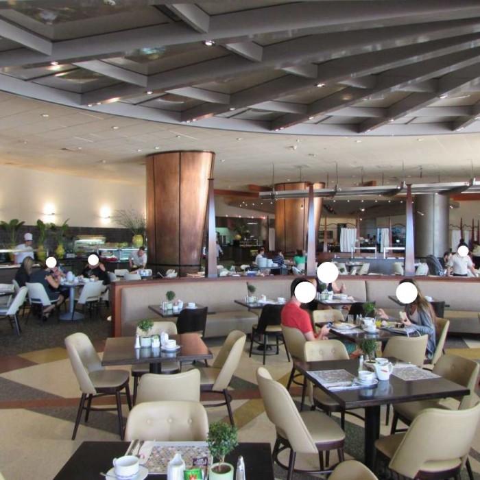 חדר האוכל מלון דן אילת