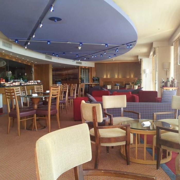 חדר פנימי בטרקלין העסקים מלון דן אילת