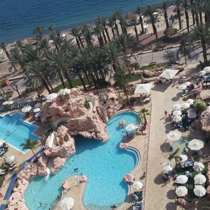 הבריכה מלון דן אילת