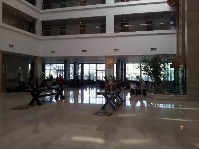 הכניסה למלון מלון דן פנורמה אילת