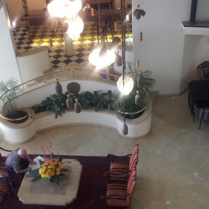 הלובי והכניסה למלון מלון הרודס בוטיק אילת