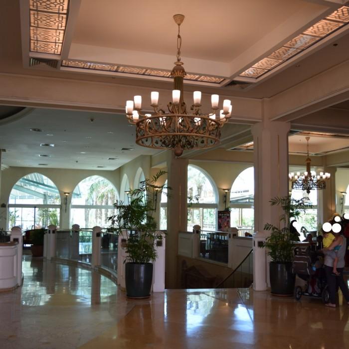 הכניסה למלון מלון הרודס פאלאס אילת