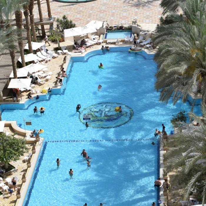 הבריכה מלון הרודס פאלאס אילת