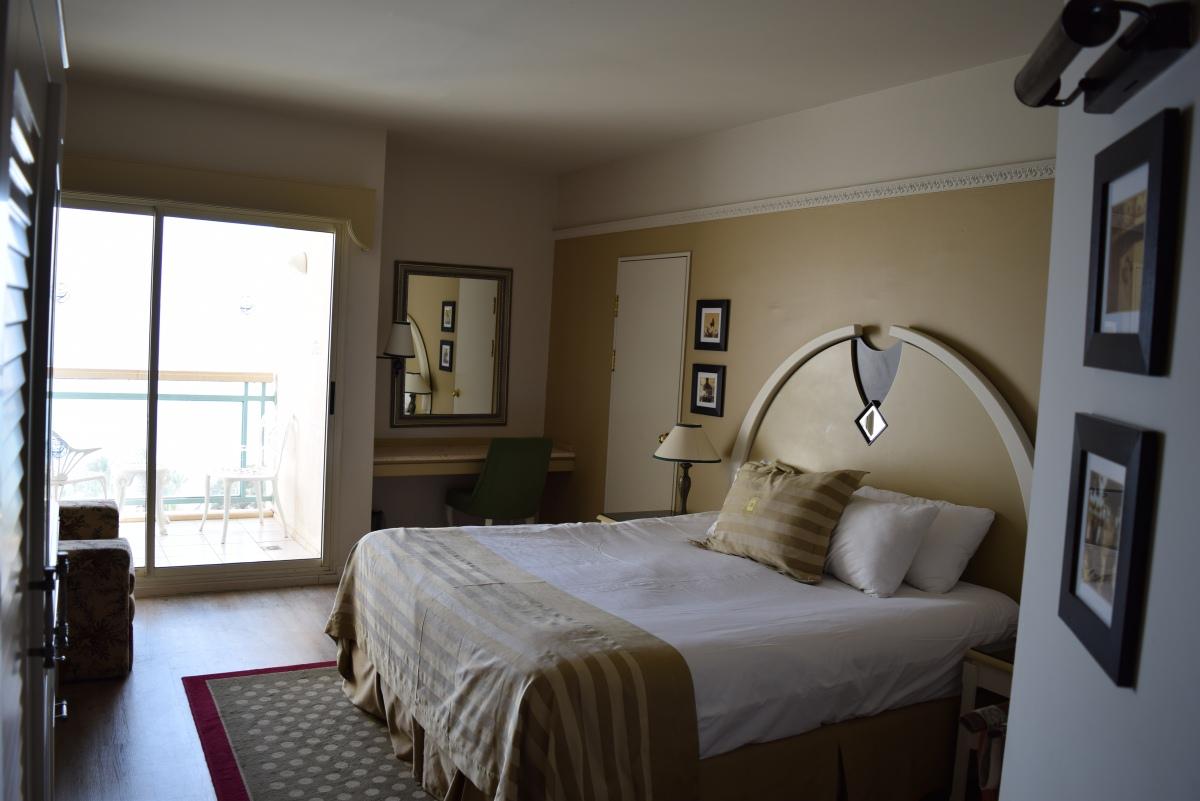 החדר ביום מלון הרודס פאלאס אילת