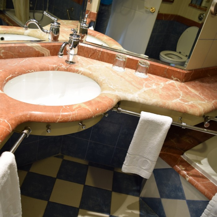 חדר אמבטיה החדר מלון הרודס פאלאס אילת