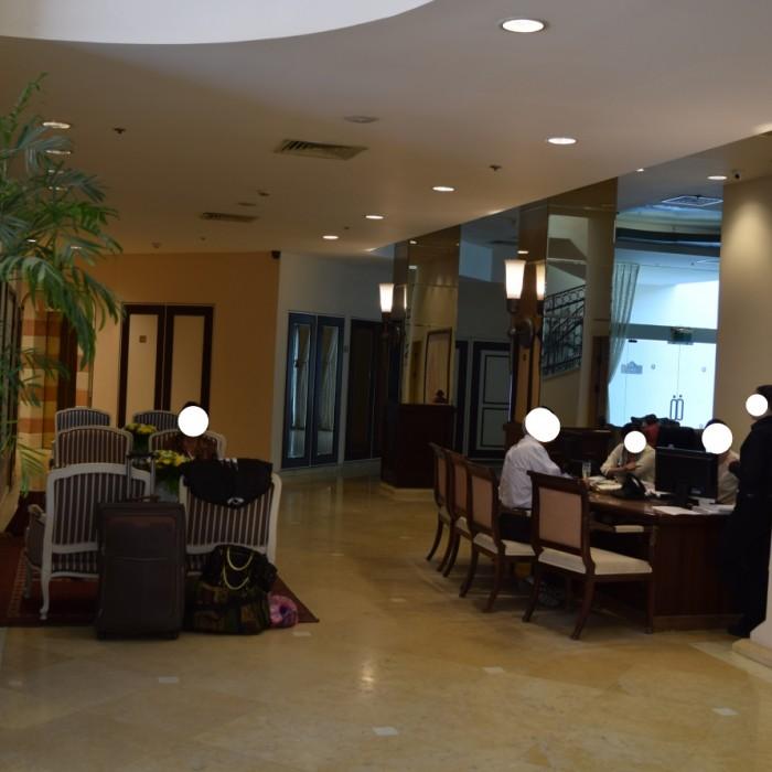 הקבלה מלון הרודס ויטאליס אילת