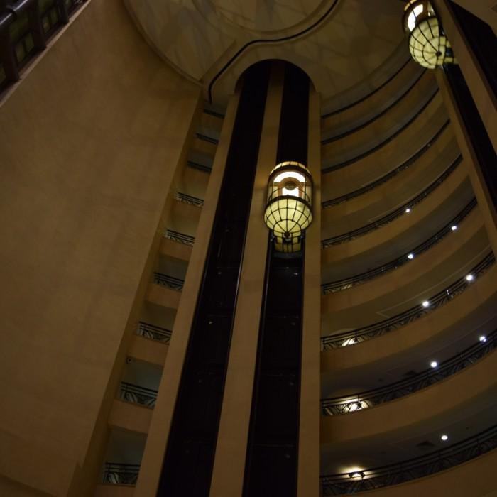 המעליות מלון הילטון אילת