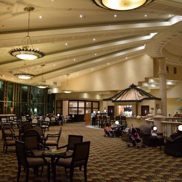 הלובי מלון הילטון אילת