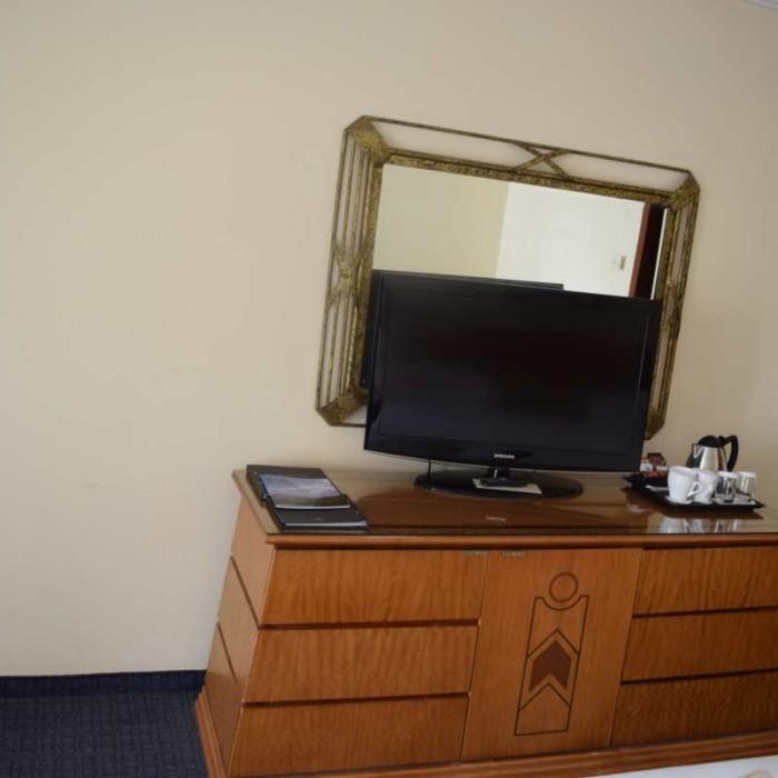 הטלוויזיה החדר מלון הילטון אילת