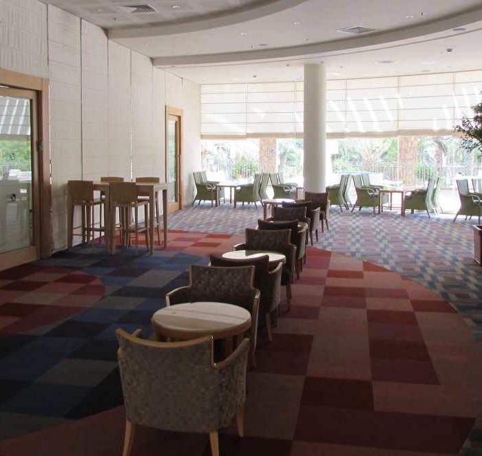 לובי מלון אגמים אילת