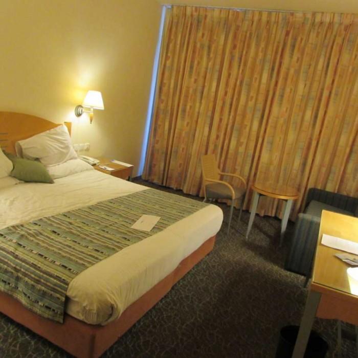החדר עם תאורה מלון אגמים אילת