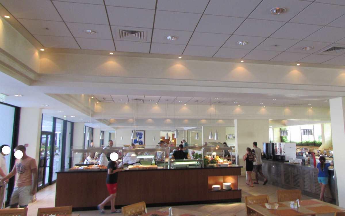חדר האוכל מלון ישרוטל לגונה אילת