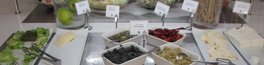 גבינות וממרחים ארוחת בוקר מלון ישרוטל ים סוף אילת