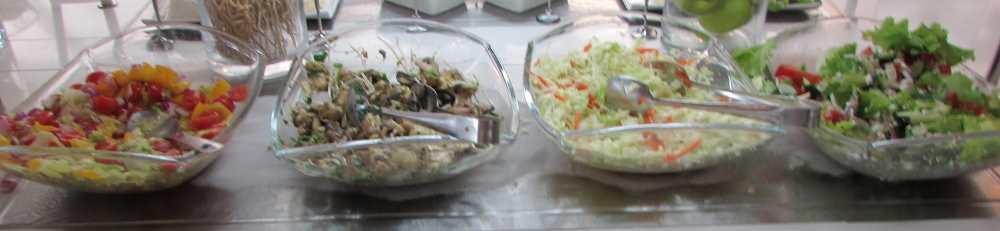 סלטים ארוחת בוקר מלון ישרוטל ים סוף אילת