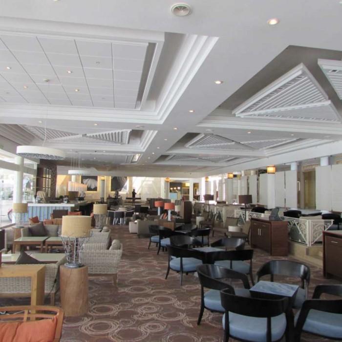 הלובי מלון ישרוטל ים סוף אילת