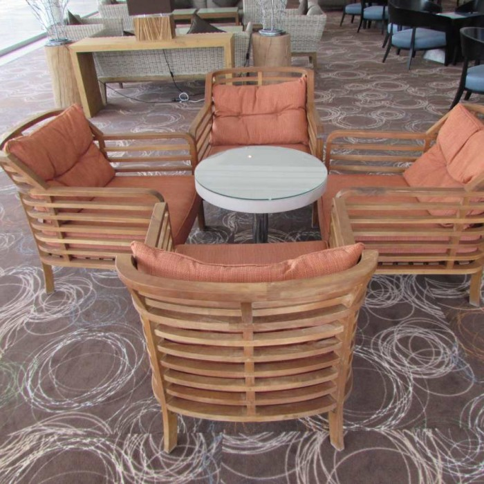 פינת ישיבה בלובי מלון ישרוטל ים סוף אילת