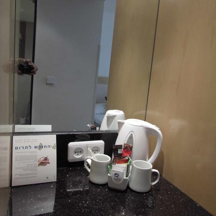 ערכת קפה החדר מלון ישרוטל ים סוף אילת
