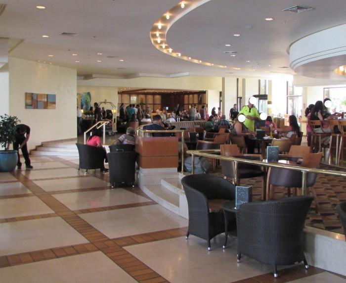 לובי המלון מלון המלך שלמה אילת