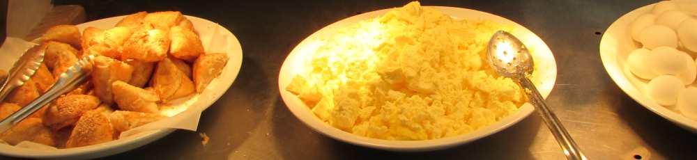 בורקסים, ביצים ארוחת בוקר מלון לאונרדו פלאזה אילת
