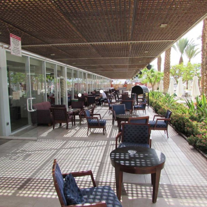 מקומות ישיבה חיצוניים מלון לאונרדות פלאזה אילת