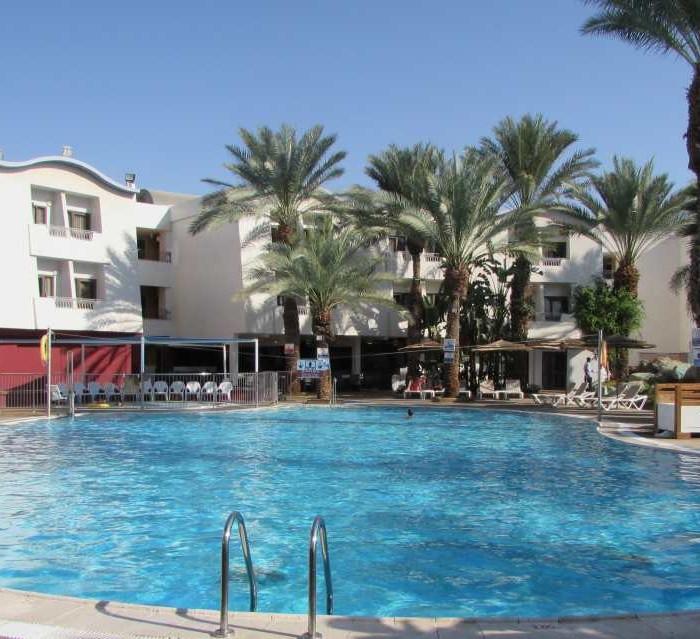 הבריכה מלון לאונרדו פריוילג' אילת