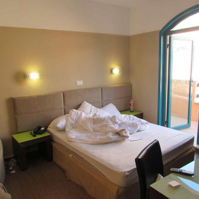 חדר זוגי מלון מג'יק סאנרייז קלאב אילת
