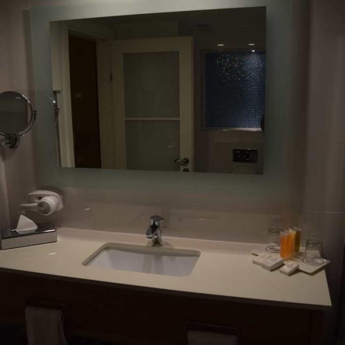 הכיור באמבטיה אורכידאה הריף אילת