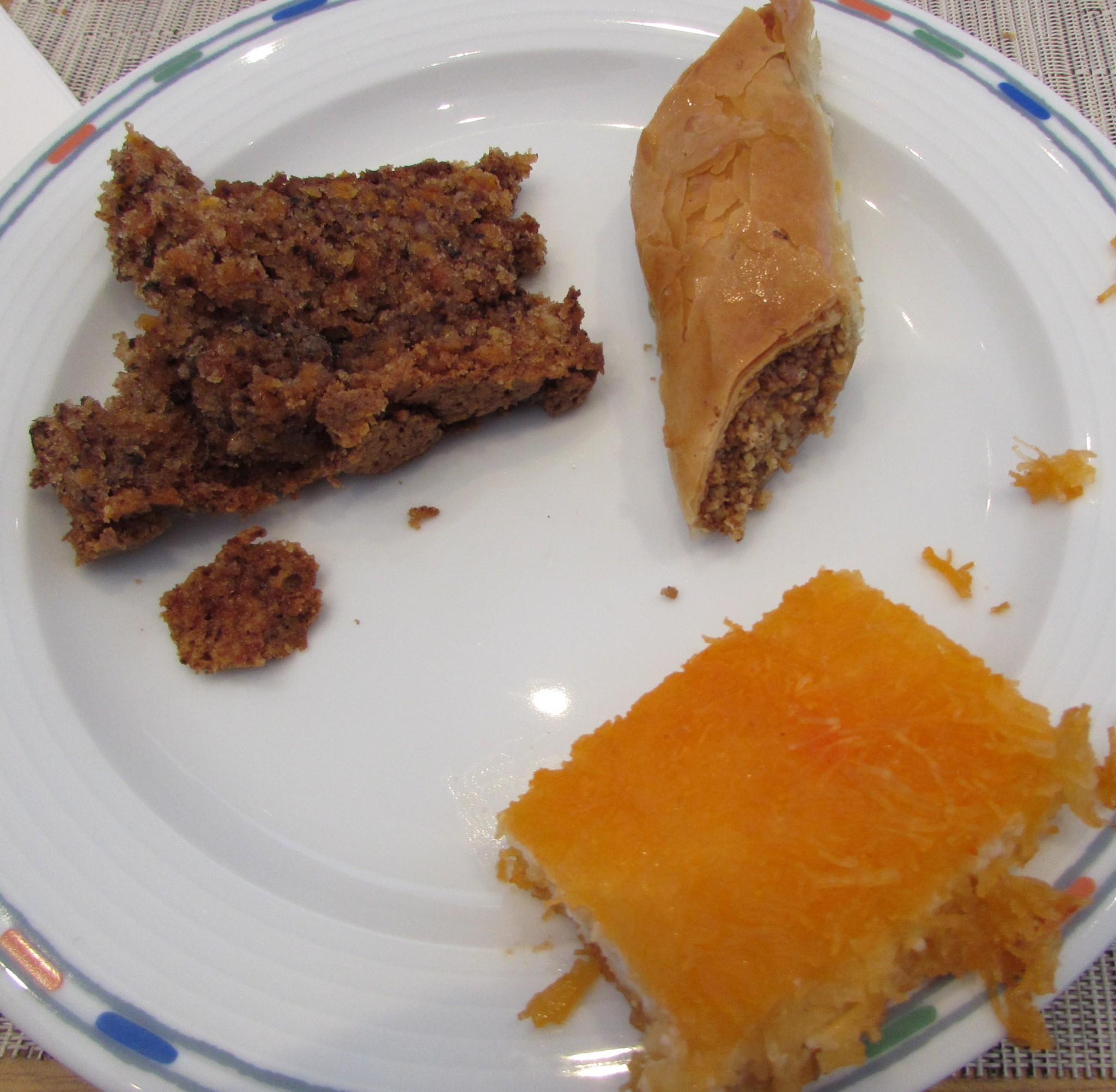 קינוחים ארוחת בוקר מלון רויאל ביץ אילת