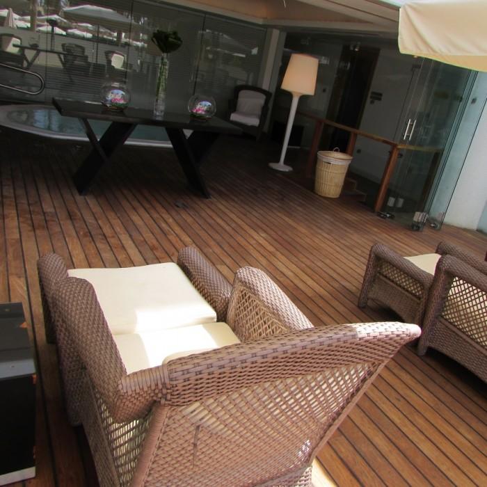 מתחם הג'קוזי בספא יערות הכרמל מלון רויאל ביץ אילת
