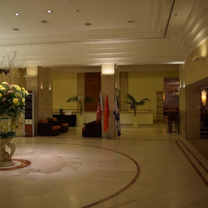 הכניסה למלון מלון שרתון ניו יורק
