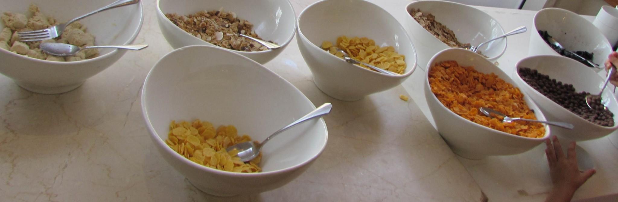 קורנפלקס ארוחת בוקר מלון הנסיכה אילת