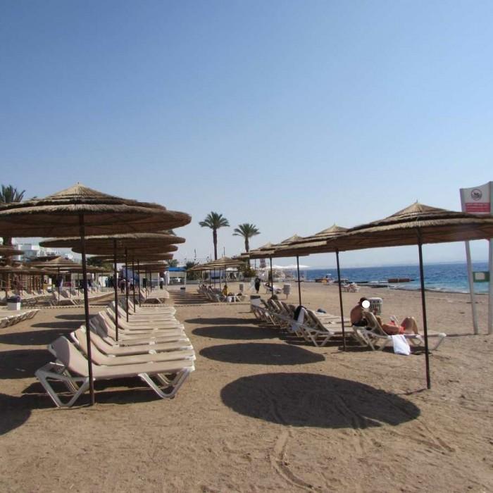החוף מלון יו קןרל ביץ אילת