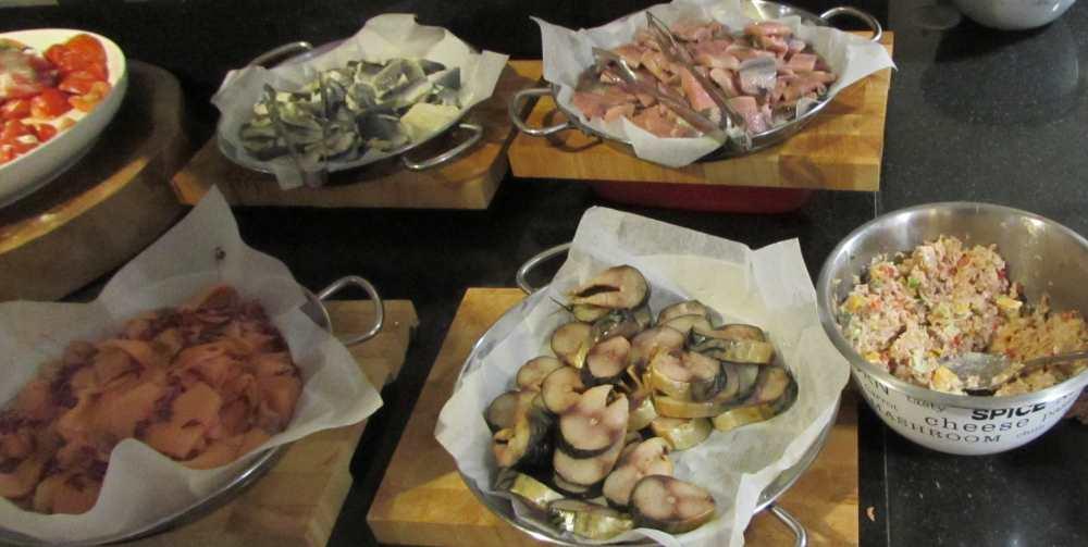 דגים ארוחת בוקר מלון יו קורל ביץ אילת