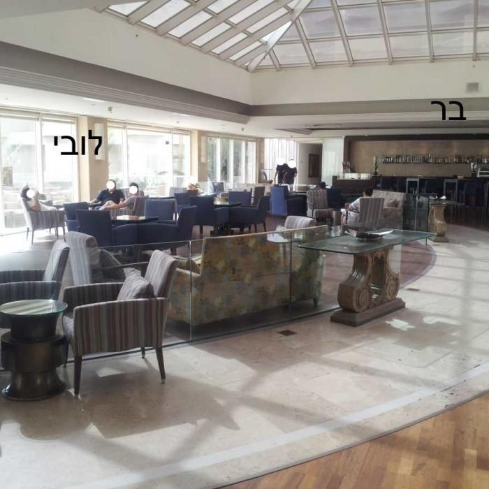 הלובי ובר המלון מלון יו סוויטס אילת