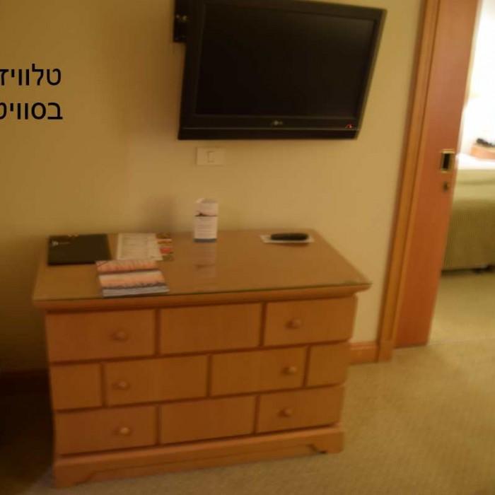 טלוויזיה מלון יו סוויטס אילת