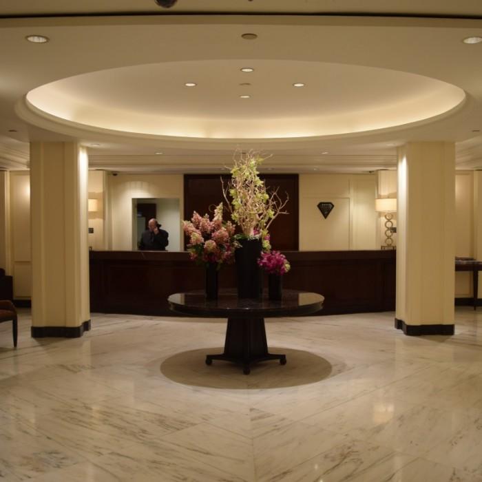 הקבלה מלון אומני ברקשייר ניו יורק