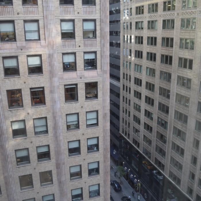 הנוף שקיבלתי מלון אומני ברקשייר ניו יורק