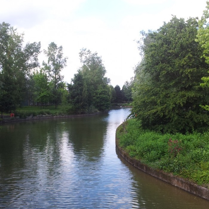 הסביבה של דיסנילנד פריז היא סביבה ירוקה