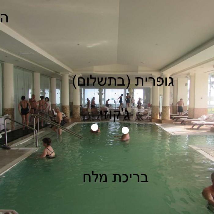 מלון ישרוטל ים המלח ספא