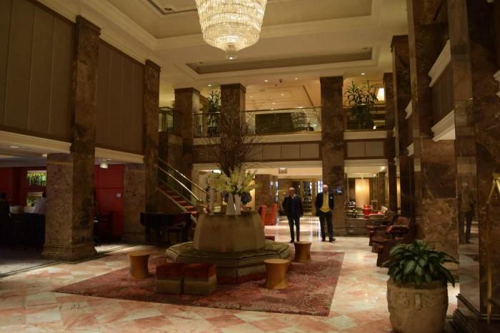 מלון מיכאלאנג'לו הלובי