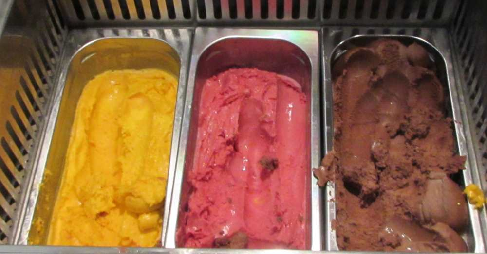 גלידה ארוחת הבוקר מלון דן אילת
