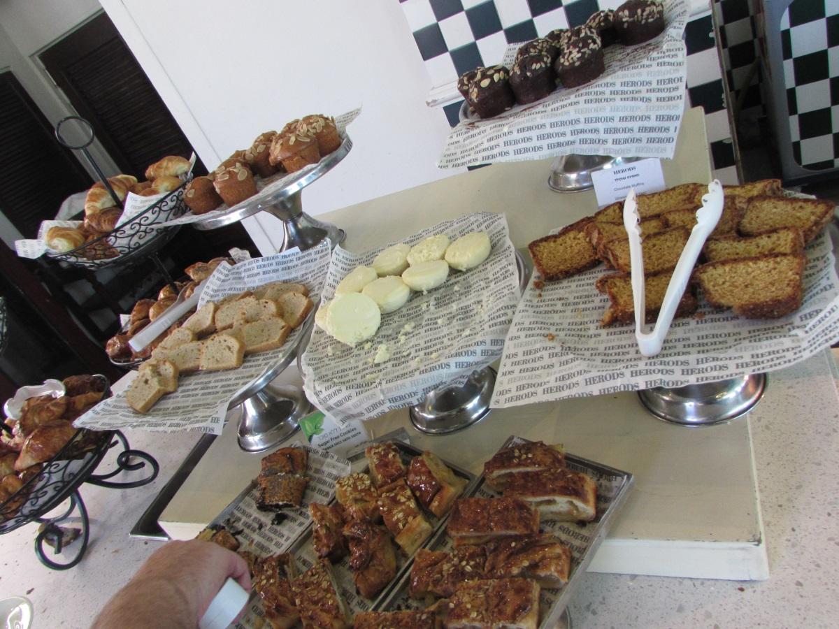 קינוחים ארוחת בוקר מלון הרודס פאלאס אילת