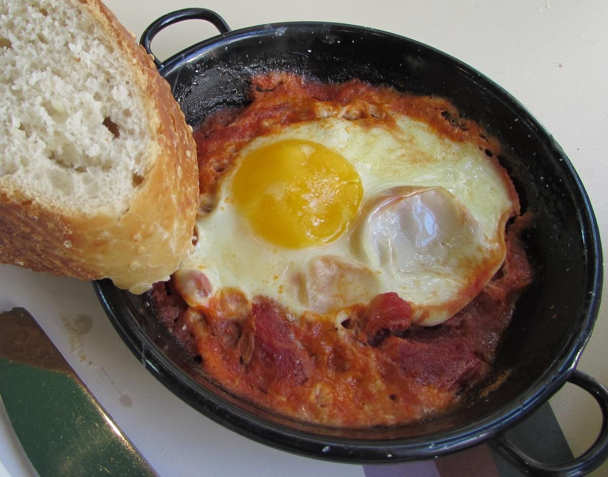 שקשוקה ארוחת בוקר מלון הרודס פאלאס אילת