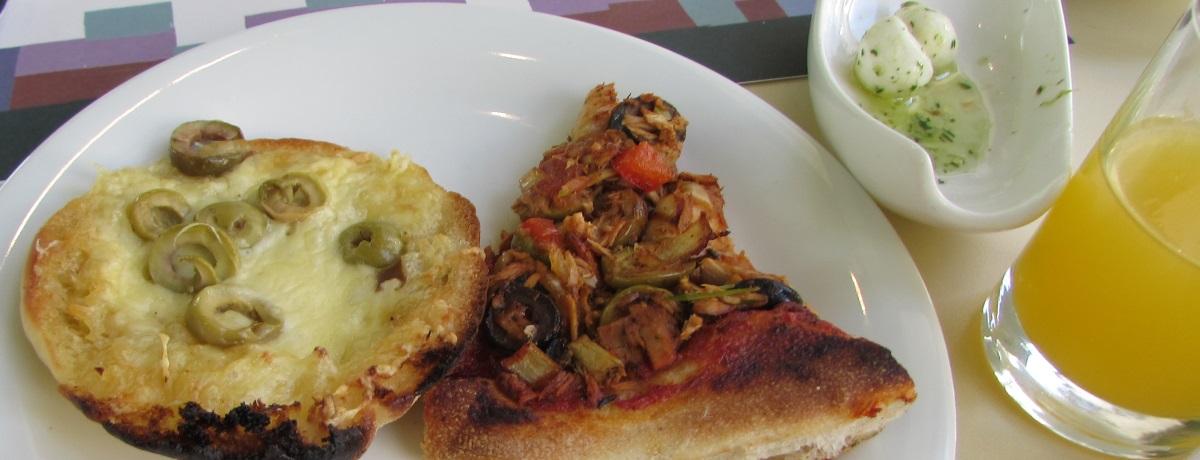 פיצות ארוחת בוקר מלון הרודס פאלאס אילת