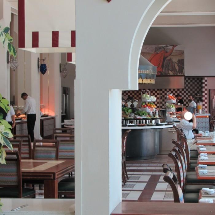 חדר אוכל VIP ארוחת בוקר מלון הרודס פאלאס אילת