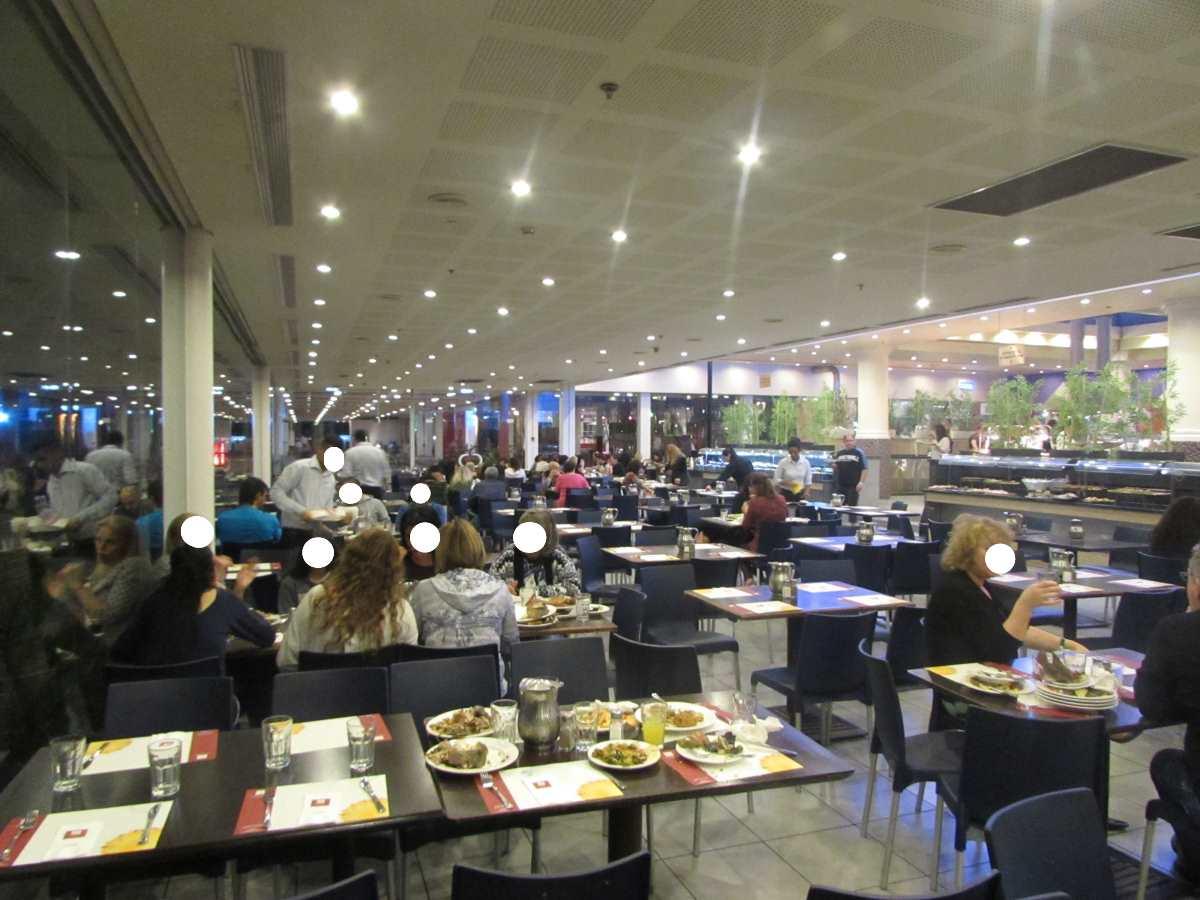 חדר אוכל מלון לאונרדו קלאב אילת
