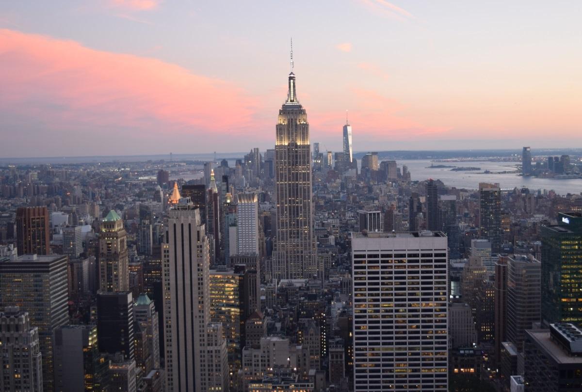 ניו יורק בשקיעה