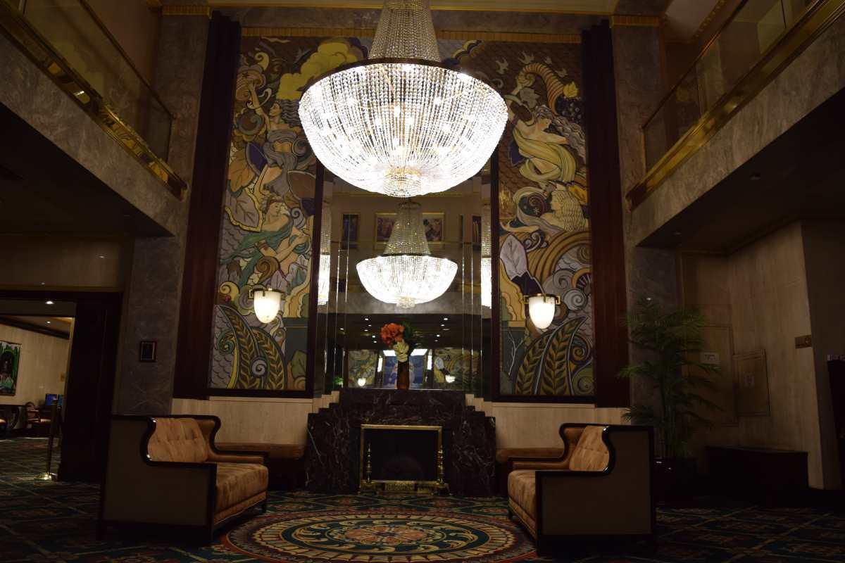 מלון וולינגטון לובי