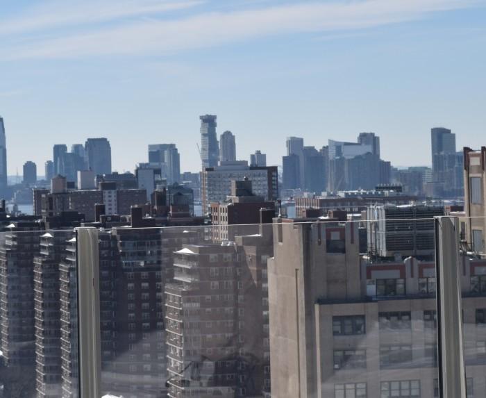 נוף מהגג מלון פיירפילד ליד תחנת פנסילבניה ניו יורק