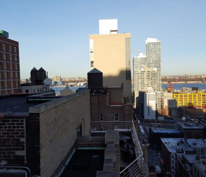 נוף מהגג מלון הומווד סוויטס מידטאון ניו יורק